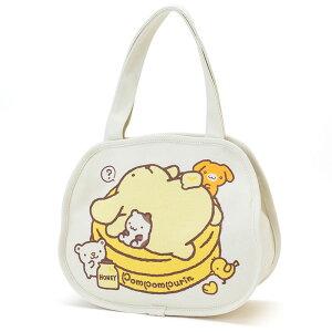 ポムポムプリン 帆布手さげバッグ(ホットケーキ)