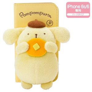 ポムポムプリン マスコット付きiPhone 6s/6ケース(ホットケーキ)