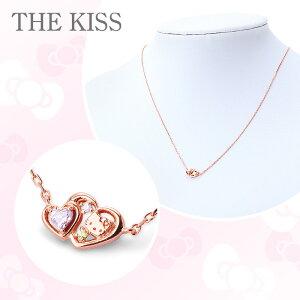 ハローキティ×THE KISS 2015Xmas限定キティフェイス&ジュエルハートネックレス