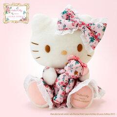 ハローキティ ぬいぐるみデラックス(Hello Kitty meets LAURA ASHLE…