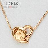 ポムポムプリン×THE KISS ピンクゴールドコーティングネックレス