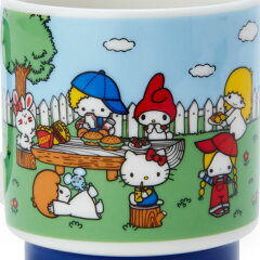 サンリオキャラクターズマグカップ('70sガーデン)