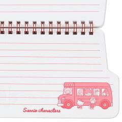 サンリオキャラクターズバス形スパイラルノート('70sバス)
