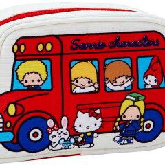 サンリオキャラクターズバス形ポーチ('70sバス)