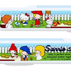 サンリオキャラクターズ箸&ケース('70sガーデン)
