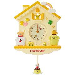 ポムポムプリンデコラティブ振り子時計