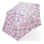 ハローキティ 折りたたみ傘(フェイス)