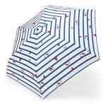 ハローキティ 折りたたみ傘(ボーダー)