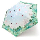 ハローキティ 晴雨兼用UVキャンバスパラソル(折りたたみ日傘)