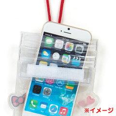 ハローキティ防水スマートフォンケース