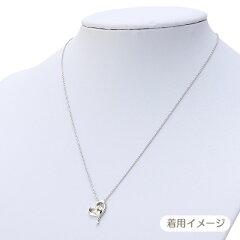 ハローキティ誕生石ハートペンダント(9月サファイア)