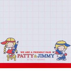 パティ&ジミーミニクリップボード&メモ