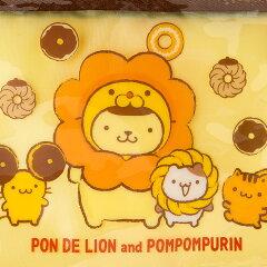 ポムポムプリン×ミスタードーナツ(ポン・デ・ライオン)ファスナーペンケース