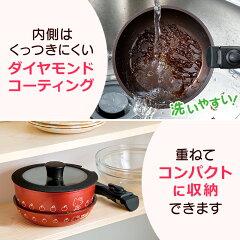 ハローキティ鍋&フライパン2点セット