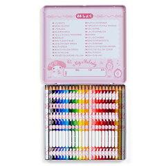 マイメロディ色鉛筆24色セット(ロゼット)