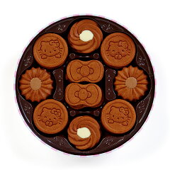 ハローキティココアクッキー缶(タイニーチャム)