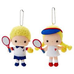 パティ&ジミーマスコットホルダー(テニス)