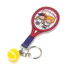 パティ&ジミーアクリルキーホルダー(テニス)