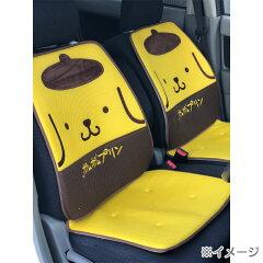 ポムポムプリンカーシートクッション(メッシュL型)2枚セット
