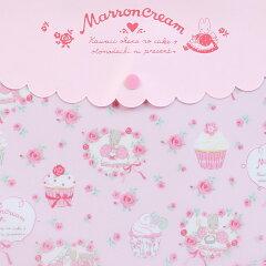マロンクリームビニールマルチケース(カップケーキ)