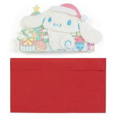シナモロールクリスマスライト&メロディカード(ふかふか)
