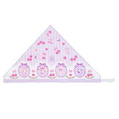 ぼんぼんりぼんキッズ三角巾(チェリー)