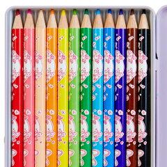 マイメロディ色鉛筆12色セット(ティータイム)