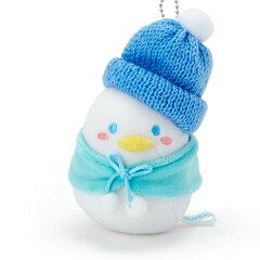 タキシードサムむにゅぐるみマスコットホルダー(雪だるま)