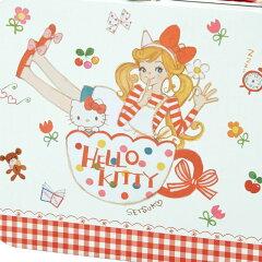 田村セツコ×ハローキティ缶トランク入りお菓子セット