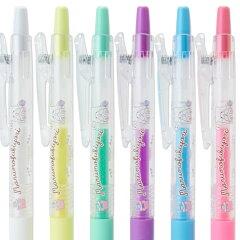 まるもふびよりJUICEゲルインキボールペン6色セット(のんびり)