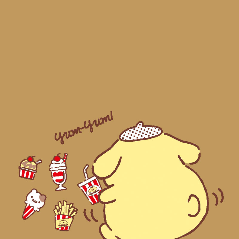 ポムポムプリン marumanクロッキーブック(ぷくぷくプリン)B