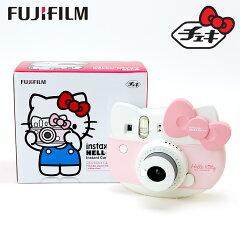 ハローキティ富士フイルムインスタントカメラ「チェキinstaxmini」ピンク