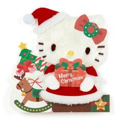 ハローキティクリスマスライト&メロディカード(ふかふか)