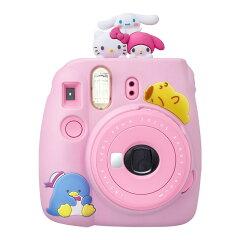 サンリオキャラクターズ富士フイルムインスタントカメラ「チェキinstaxmini」カバー付きスペシャルキット