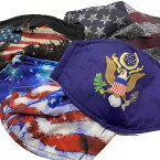 大統領旗 アメリカ国旗マスク4種類から選べます。大人用 子供用