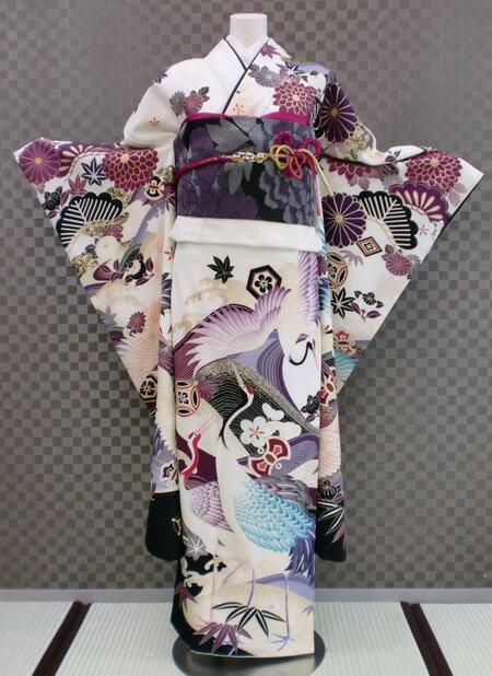 振袖 ふりそで 振袖レンタル 着物 フルセット 送料無料 結婚式 成人式 着物レンタル 【JAPAN STYLE】 古典 L-5082