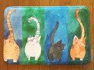 キッチンマット 玄関マット 愉快な 猫 の フロアーマット ネコ ねこ マット