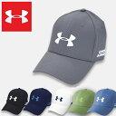 アンダーアーマー キャップ メンズ スポーツ UNDER ARMOUR MENS GOLF HEADLINE 2.0 CAP 帽子 ゴルフ グレー ブラック ネイビー ホワイト 1305018