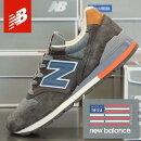 ニューバランスメンズスニーカーアメリカ製NEWBALANCEM996DSKIMADEINUSA/靴スポーツシューズランニングウォーキング送料無料