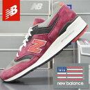 ニューバランスメンズスニーカーアメリカ製NEWBALANCEM997CRGMADEINUSA/靴スポーツシューズランニングウォーキング
