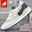 ニューバランスメンズスニーカーアメリカ製NEWBALANCEM997CSEAMADEINUSA/靴スポーツシューズランニングウォーキング