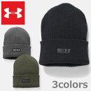 ンダーアーマー防寒ビーニーキャップUNDERARMOURTRUCKSTOPBEANIECAPキャップニット帽帽子メンズブラックグリーングレー