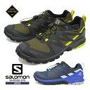 サロモン シューズ メンズ 靴 SALOMON 登山靴 防水 トレッキング アウトドア スニーカー XA ROGG GT