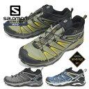 サロモン シューズ メンズ 靴 SALOMON 登山靴 防水 トレッキング アウトドア スニーカー X ULTRA 3 GTX ゴアテックス キャンプ トレイルランニング・・・