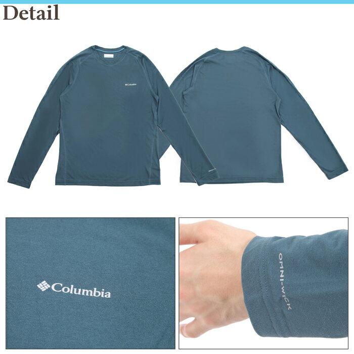 【スプリングフェア4/24(金)9:59まで】ColumbiaMountainTechIILSTop/コロンビアメンズ長袖Tシャツ//送料無料