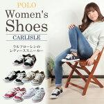 ポロ・ラルフローレンキャンバススニーカーカーライル/POLORALPHLAURENCARLISLE/靴カジュアルシューズ