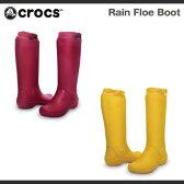 【超目玉 残り僅か!】【レディース】クロックス レイン フロー ブーツ ウィメンズ Crocs Rain Floe Boot Womens ブーツ 長靴 レインブーツ/送料無料