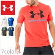 アンダーアーマー Tシャツ/UNDER ARMOUR TEE SHIRTS/アンダー アーマー メンズ tシャツ 半袖 ロゴ スポーツ ヒートギア