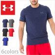 アンダーアーマー Tシャツ ヒートギア/UNDER ARMOUR TEE SHIRTS/アンダー アーマー メンズ tシャツ 半袖 ロゴ スポーツ