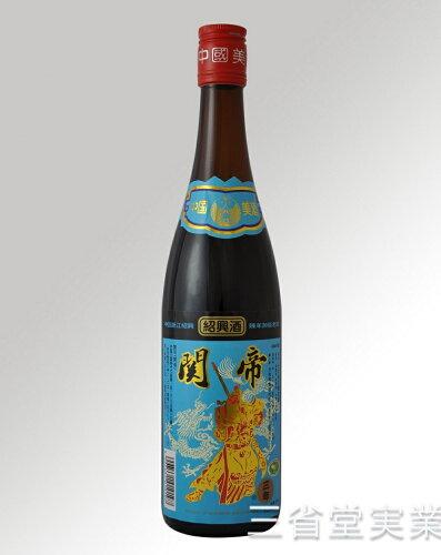 関帝陳年3年加飯酒 [青ラベル] 17度 600ml×12本 SK0197 1...